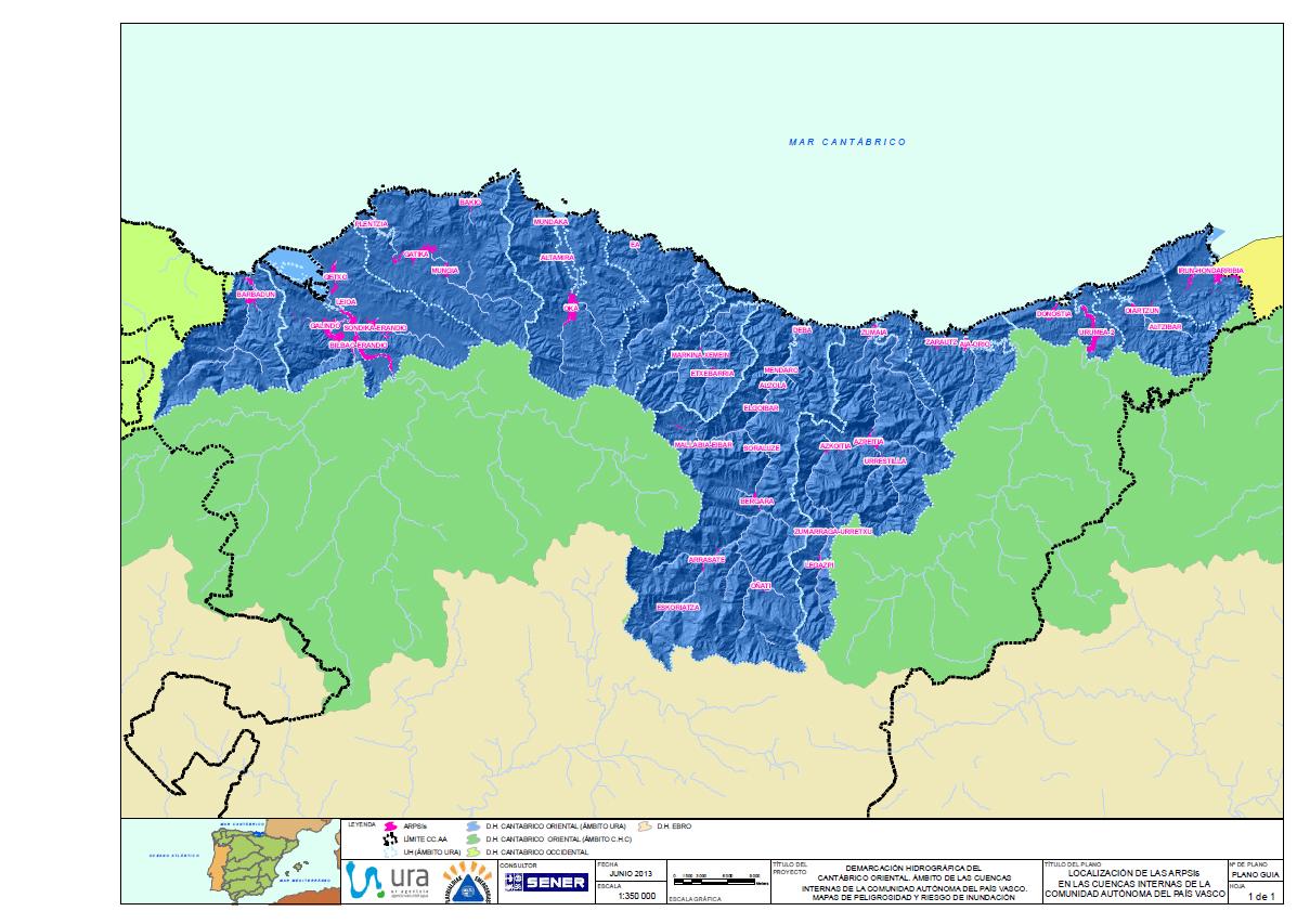 Concluidos Los Mapas De Inundacion Por La Agencia Vasca Del Agua Ura